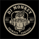 DJ Monkey T-Shirt Template