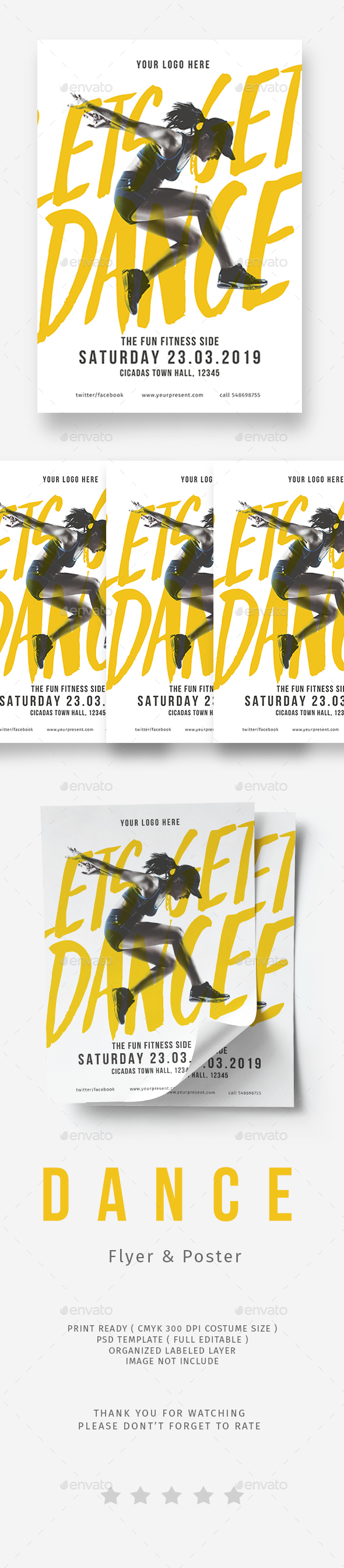 Dance Flyer - Sports Events