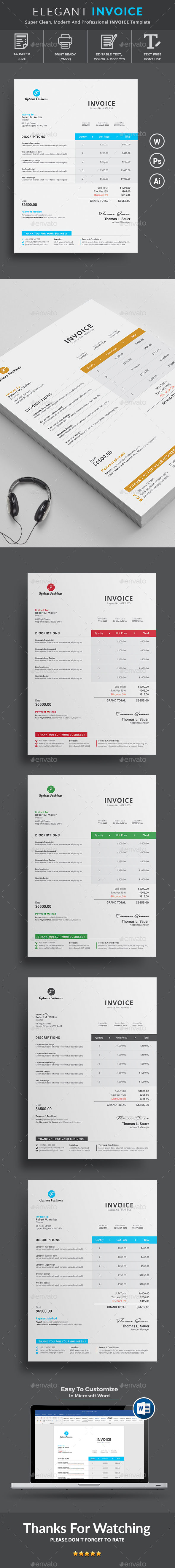 Paypal Invoice Scam Word Business Proposal  Invoice Templates From Graphicriver Soho Invoice with Invoice Accounting Software  Sample Tax Invoice Template