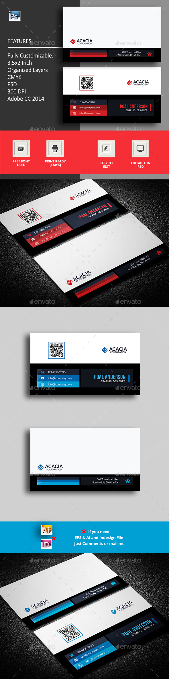 Kordi Business Card - Corporate Business Cards