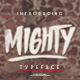 Mighty Typeface - GraphicRiver Item for Sale