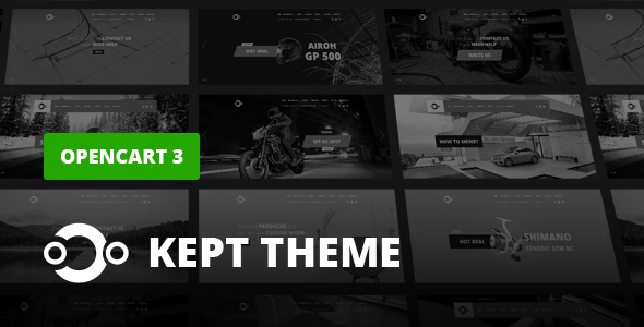 Image of KEPT - Responsive OpenCart Theme