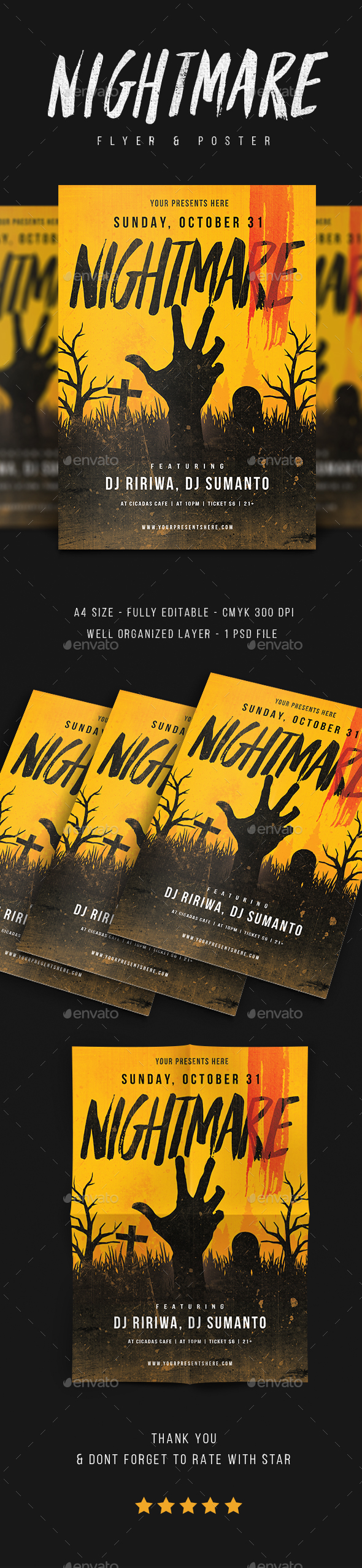 GraphicRiver Halloween flyer vol.4 20646073