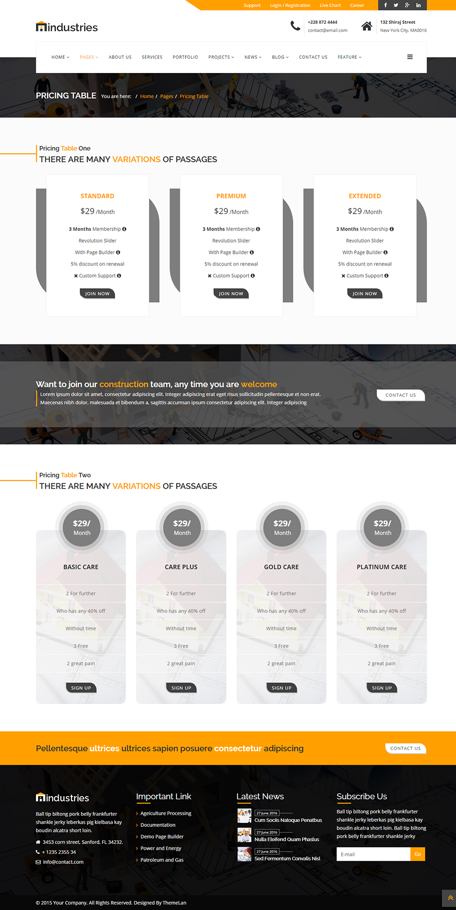 Industries   Industrial U0026 Construction Business HTML Template