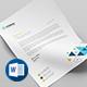 Letterhead Bundle_ 2 in 1 - GraphicRiver Item for Sale