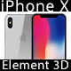 Element 3D Apple iPhone X - 3DOcean Item for Sale