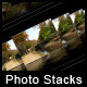 Different Photo Stack Actions - GraphicRiver Item for Sale