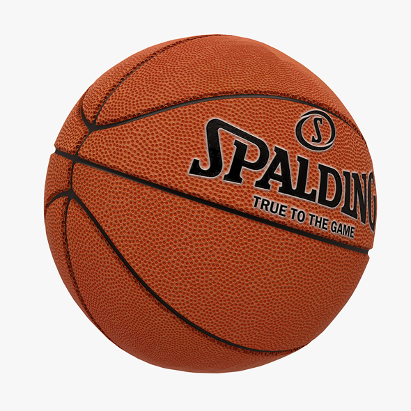 3DOcean Spalding Basketball Ball 20647405