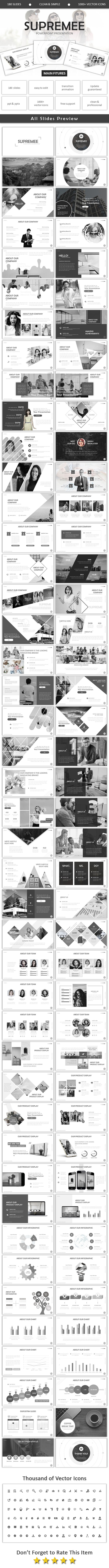Supremee Powerpoint - Business PowerPoint Templates