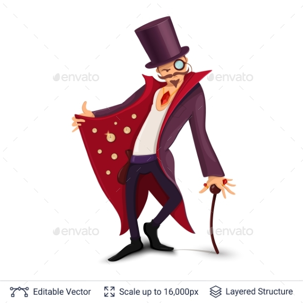 Sly Character Offers Specials. - Miscellaneous Vectors