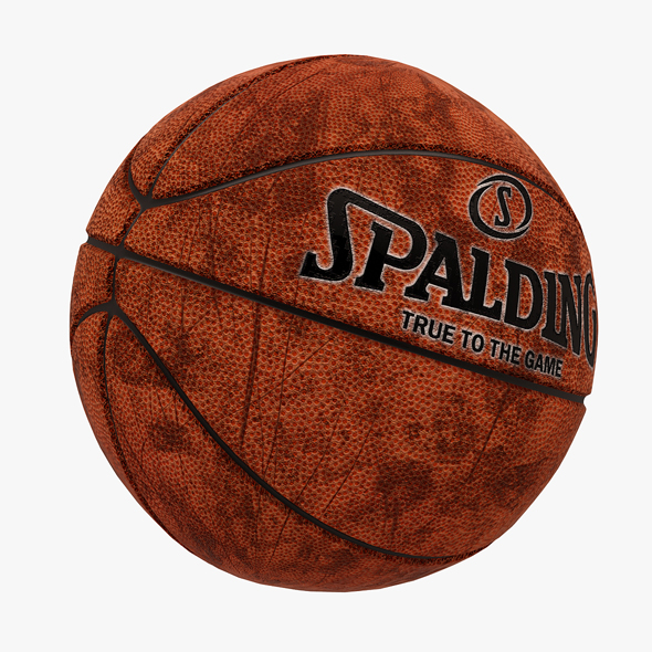 3DOcean Spalding Basketball Ball Dirty 20647422