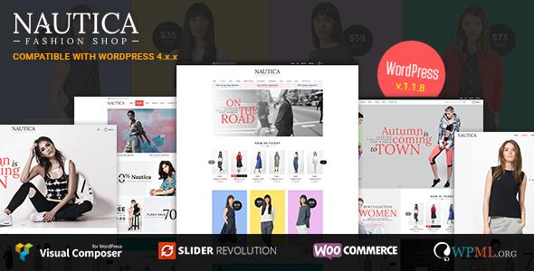 Nautica - Responsive WooCommerce WordPress Theme - WooCommerce eCommerce