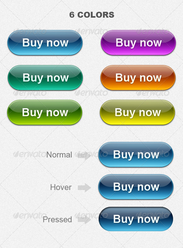 Web 2.0 Buy Now buttons - Buttons Web Elements