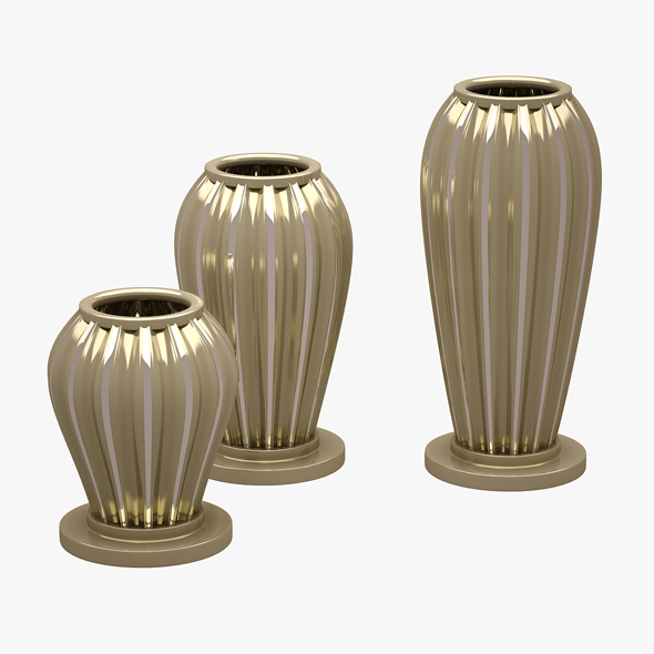 3DOcean Decorative Vases 01 20647743