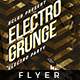 Electro Grunge - Flyer - GraphicRiver Item for Sale