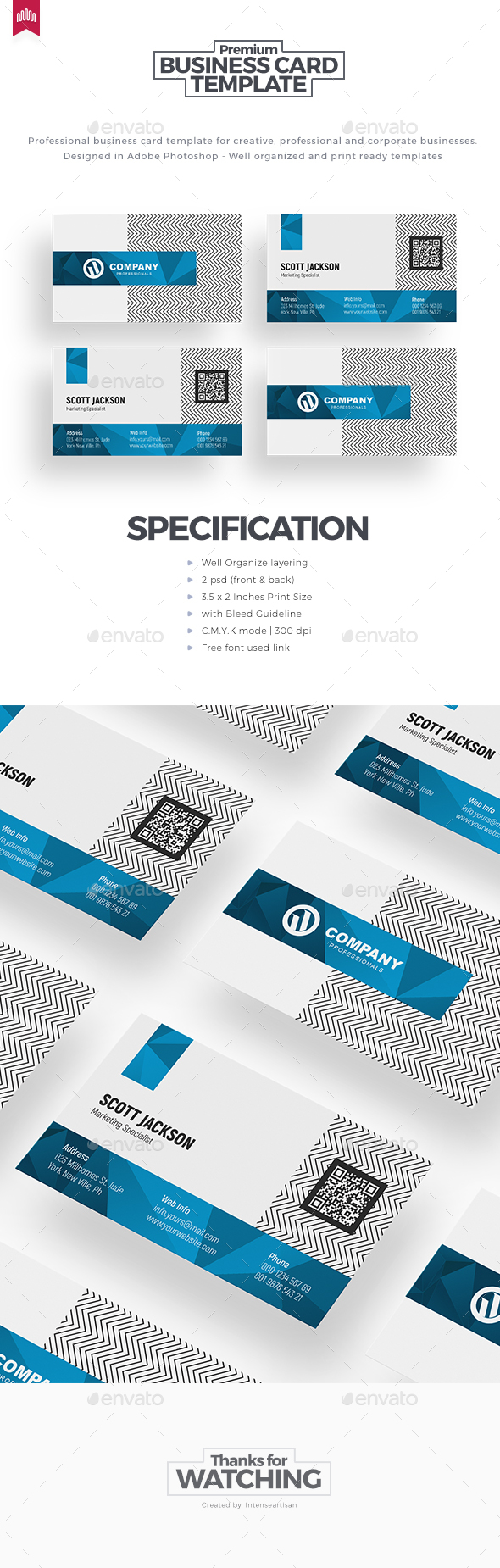 GraphicRiver Business Card 20647774