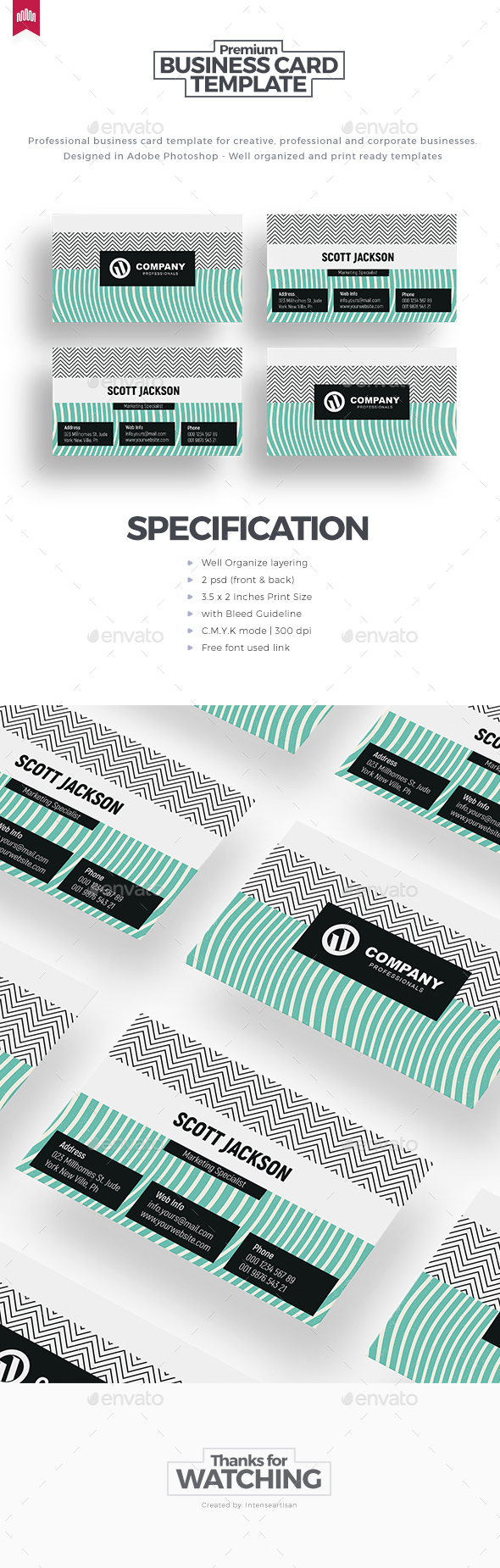 GraphicRiver Business Card 20647782