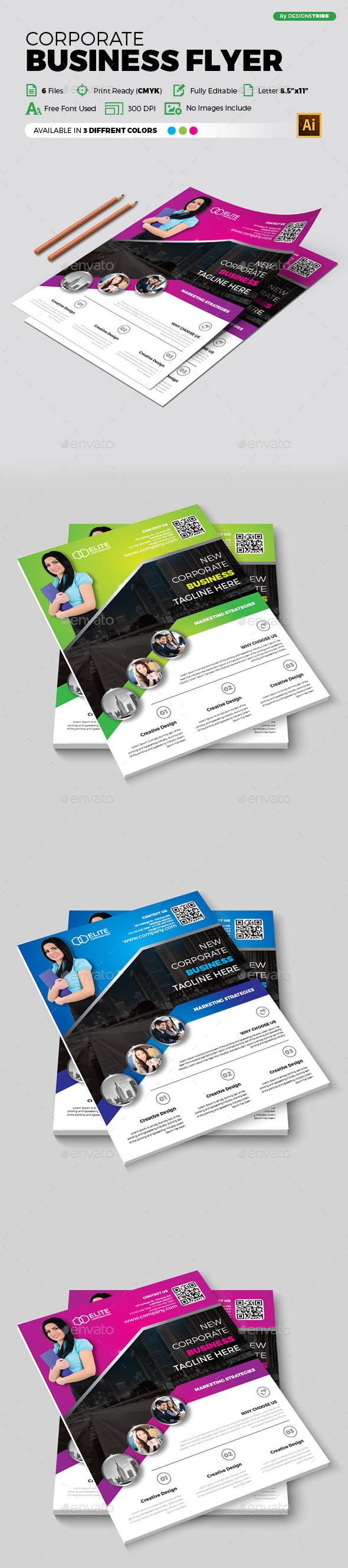 Flyer – Multipurpose 341 - Corporate Flyers