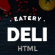 Deli Restaurant | Restaurant HTML5 Template - ThemeForest Item for Sale