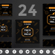 Trick Or Treat Social Media Pack - GraphicRiver Item for Sale