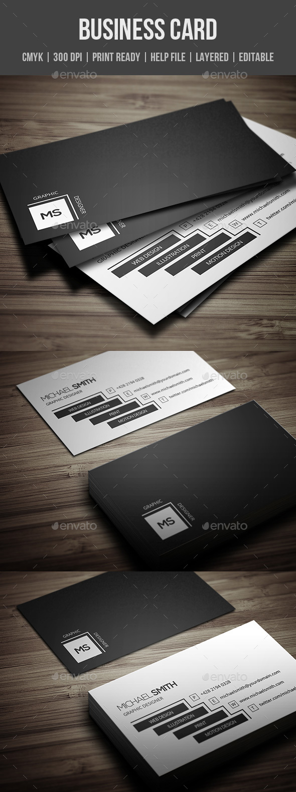 GraphicRiver Personal Business Card 20647998