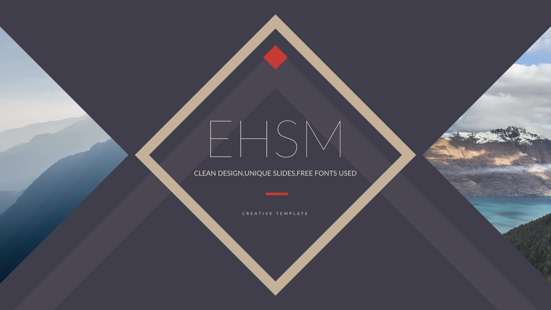 EHSM - Creative PowerPoint Presentation Template by 5yue | GraphicRiver
