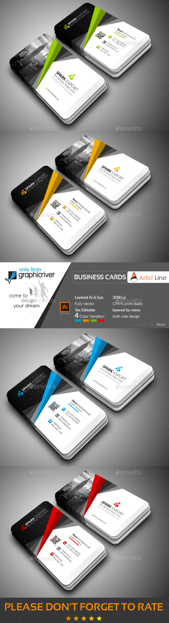 GraphicRiver Photorealistic Business Card 20648040
