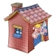 Three Little Pigs Fairy Tale Brick House