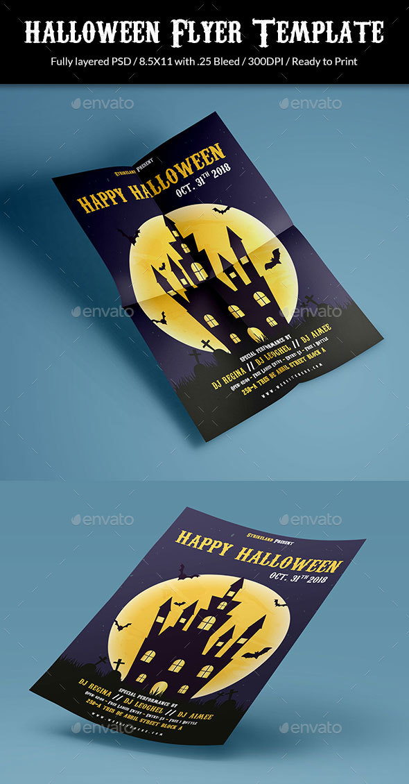 GraphicRiver Halloween Flyer 20648099