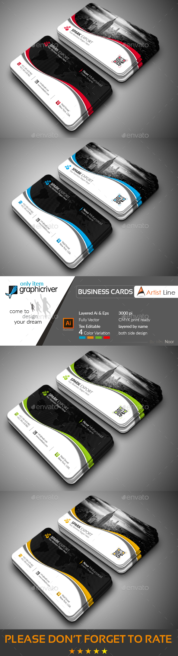 GraphicRiver Corporate Business Card 20648204