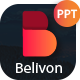 Belivon 2018 Pitch Deck PowerPoint Template - GraphicRiver Item for Sale
