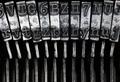 Matrix - letters on old typewriter machine - PhotoDune Item for Sale