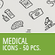 50 Medical Business Icons