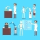 Scientists Invention in Robotic Cybernetic - GraphicRiver Item for Sale