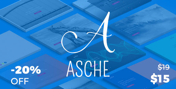 Asche - Complete Coming Soon and Maintenance Mode Plugin - CodeCanyon Item for Sale
