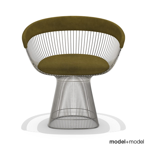 Knoll Platner armchair - 3DOcean Item for Sale