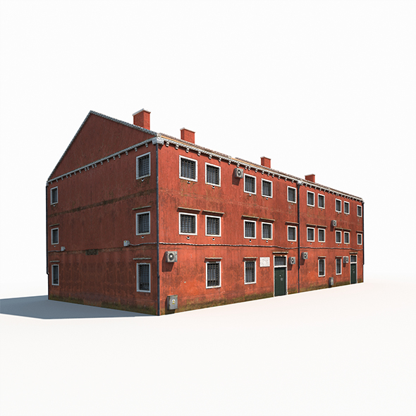 Old Building 176 Low Poly - 3DOcean Item for Sale