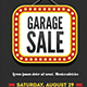 Garage Sale Flyer / Poster