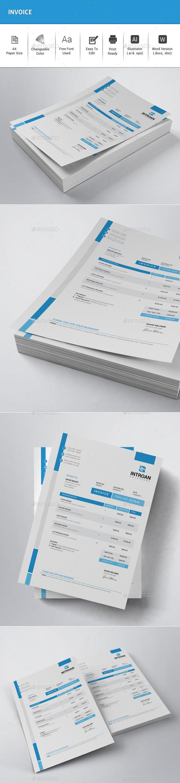 GraphicRiver Invoice 20648459