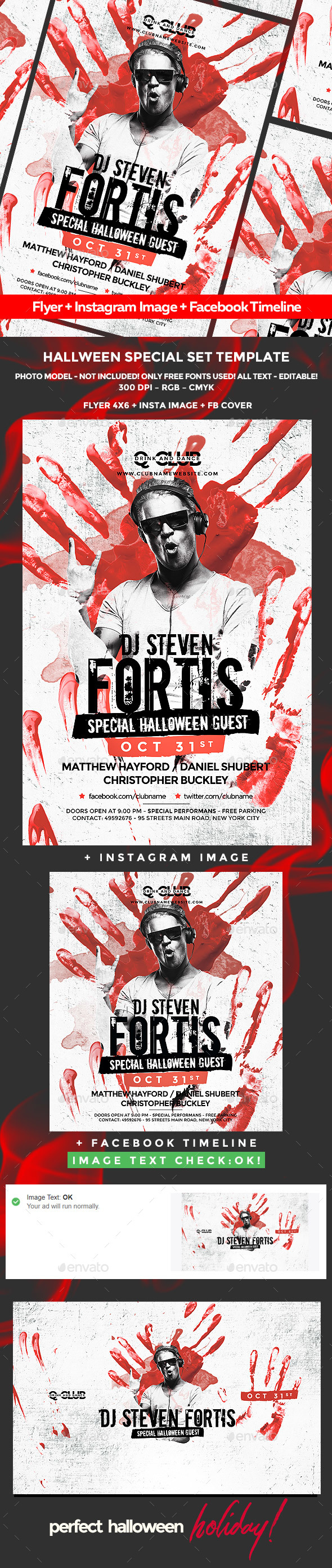 GraphicRiver Halloween Flyer 20648490