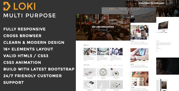 Loki - Multipurpose WordPress Theme