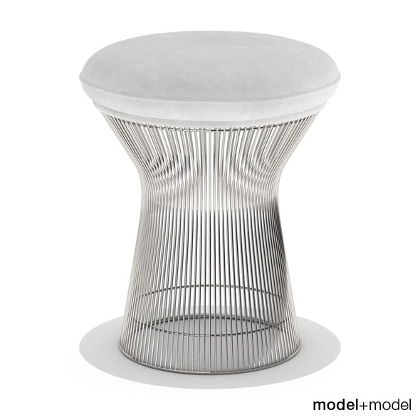 Knoll Platner stool - 3DOcean Item for Sale