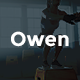 Owen - Personal trainer & Sport  landing WordPress theme