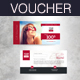 Summer holiday Gift Voucher - GraphicRiver Item for Sale
