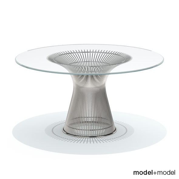 Knoll Platner dining table - 3DOcean Item for Sale