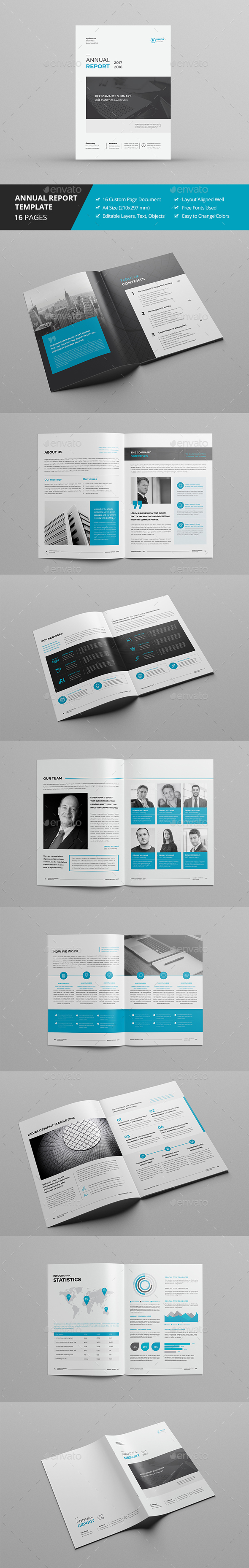 Annual Report 16 Pages - Corporate Brochures