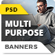 Multipurpose Ad Banners - GraphicRiver Item for Sale
