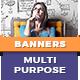 Multipurpose HTML5 Banner Templates | Animated Ads Google