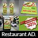 Restaurant Advertising Bundle Vol.16
