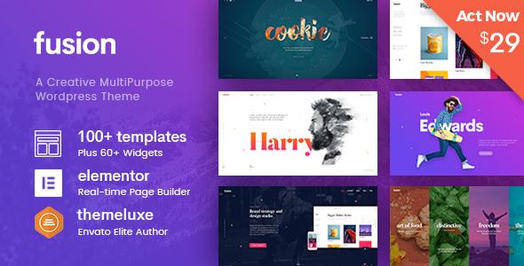 Fusion - Creative Multi-Purpose WordPress Theme